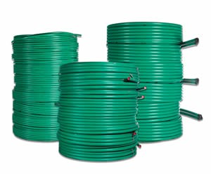 Green PE100 Geothermal Pipe