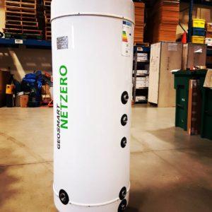 Geosmart NetZero stainless steel storage tank netzerogeo netzero geothermal