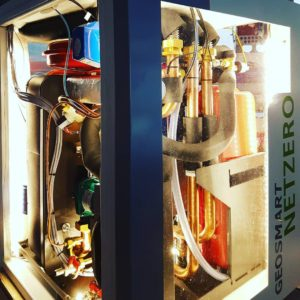 GeoSmart NetZero demo unit ready for homeshowseason